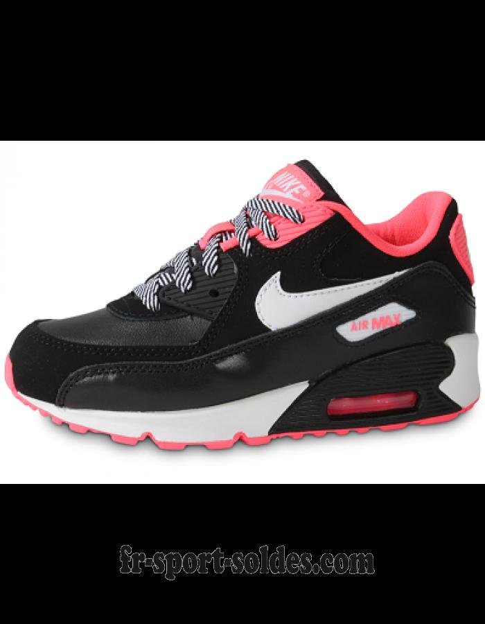 air max 90 femme noir rose