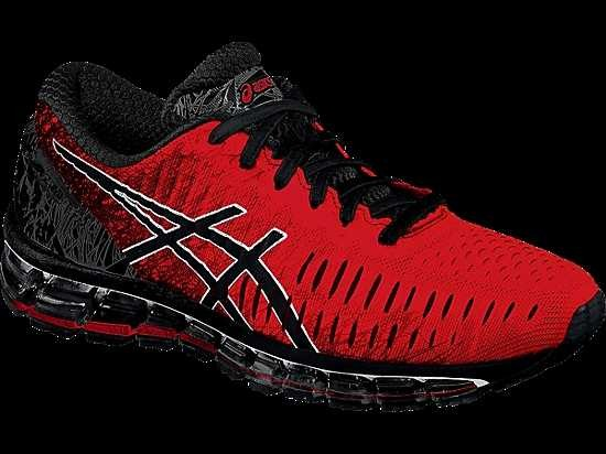 Basket Black Sneakers 360 Norway Quantum Gel Knit Asics Red